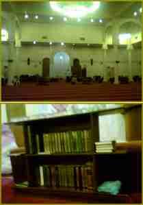 Bagian dalam masjid Kaanuu