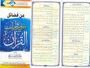 Fadhilah Surah Al-Quran II